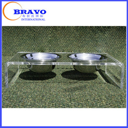 Deluxe Clear Acrylic Cat Auto Feeder, Dog Puzzle Feeder, Pet Automatic Feeder