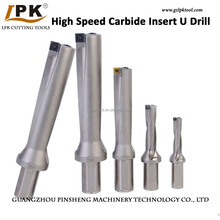 High Speed Indexable Carbide Insert U Drill