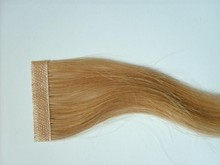 Najia hight quality remy virgin latest designed 5A blonde indian glue tape in hair extension