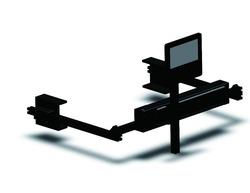 Fanless passive 3D cinema system used for digital cinemas