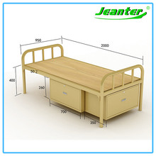 Small Packaging Volume Children Bunk Beds With Storage Melamine Bunk Bed Children Bedroom Furniture