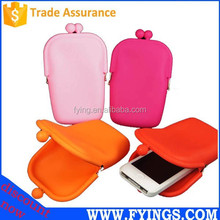 colorful Silicone cell phone case