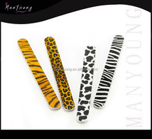 2015 new design Custom printed/abrasive durable nail file/high quality manicure
