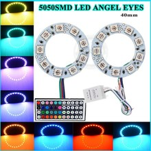 led lights car accessories oem sizes muti-colors 40mm 12v angle eyes halo ring led lights FOR cars