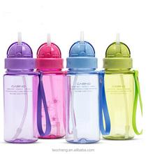 600ml kids plastic bottle water bottle for promotion