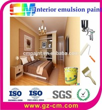 Factory supply non-toxic internal emulsion paint for home wall
