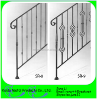 wrought iron outdoor free metal stair handrails pictures