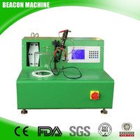 EPS100 common rail injector test bench for diesel fuel injector new product from Beacon Machine.