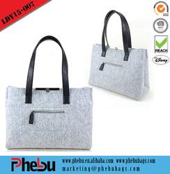 Custom felt bag,tote felt bag,promotional portable felt bag(LDY15-007)