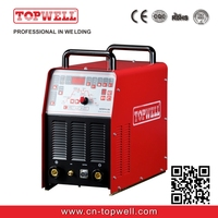 Newest ac dc mix tig welding machine Master TIG-350AC with 4 rolls automatic wire feeder motor