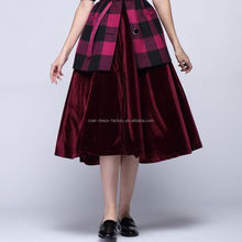 Popular low price coat and skirt for women models