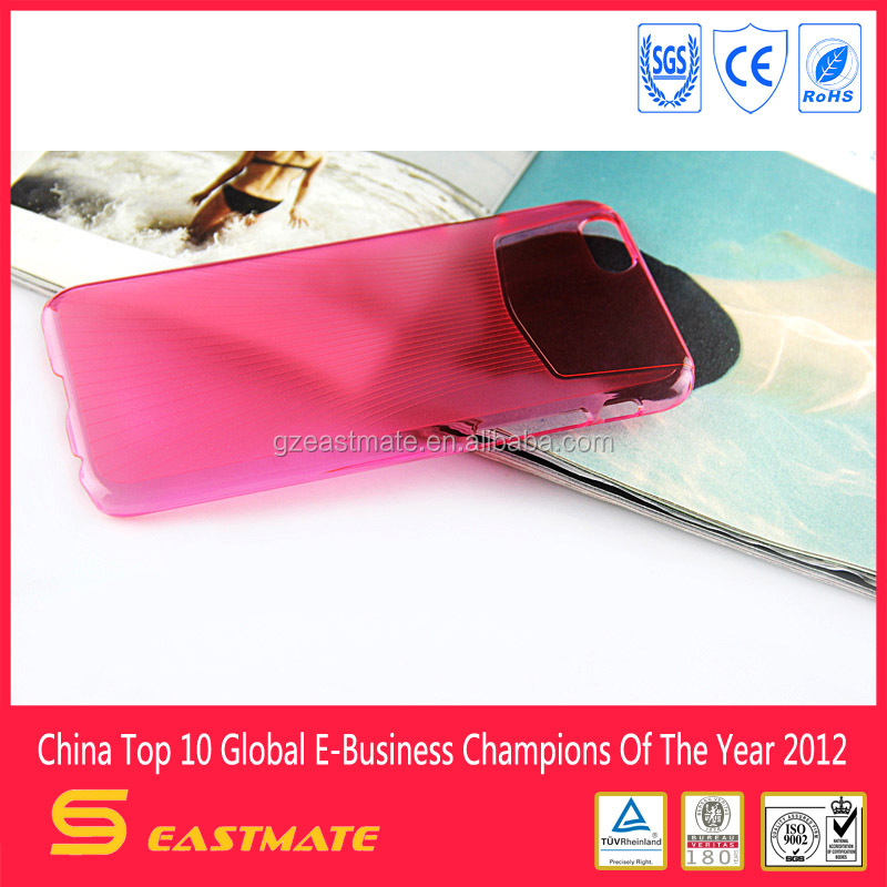 crystal case for iphone 6 with PC material