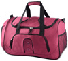 Low noise high speed sport and travel bag large leather travel bag