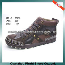 Hot selling men high cut casual shoes men 2013