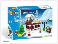 Jigsaw puzzle for Christmas, Gift for Christmas 2013, educational brick