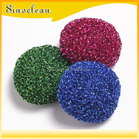 PP cleaning balls\PP scouring pads\kitchen cleaning scouring pads