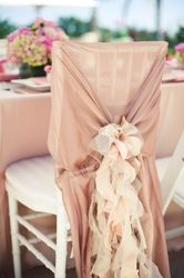 hangzhou ruffled wedding chair cover for weddings wholesale