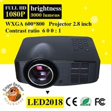 Mobile phone projector android made in China trade assurance supply led video projector hd mini led projector 3d 1080p