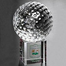 Noble Custom Made crystal golf ball