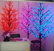 Christmas decoration Red Purple Blue LED Maple Tree Light