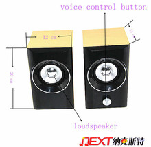 outdoor concert speakers 2015 Good Home theater and sound system 45magnetic 2ch 6w 220v high quality outdoor concert speakers