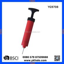 portable plastic basketball/football/soccer pump (YG9708)