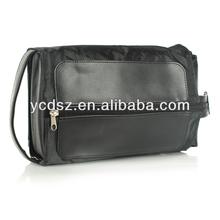 2015 moda kore çantası siyah erkek kozmetik çantası