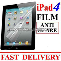 For ipad2/3/4 anti-glare /Matte screen protector from factory