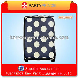 Fabric Custom Sky Travel Compass Luggage With Fixed Casters Sale