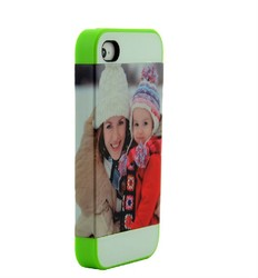 DIY 3D blank sublimation phone cover for iphone 4/4s
