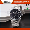 China Gift Items Day/Date Japan Movt Quartz Men Hand All Stainless Steel Mens Watch