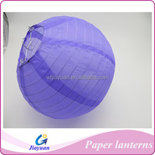 DIY Silk Round Lantern for Wedding with Pantone Color