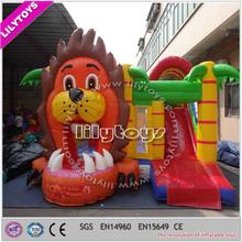 Beautiful professional manufacturer tiger inflatable castle/hop bouncer for children