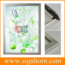 Factory Price High brightness acrylic LGP wall mounted led light photo frame