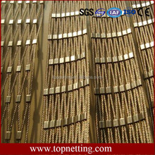 304 Stainless Steel Wire Rope Mesh for wall decoration
