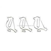 Fashion High Quality Metal Bird Paper Clips