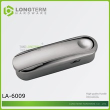 hot sale cabinet drawer hidden zinc pull handles/knobs with high quality