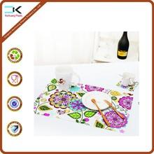 Modern sights pp plastic waterproof table mat