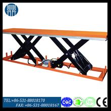 Double scissor stationary electric lift platform/ Motorized lift platform