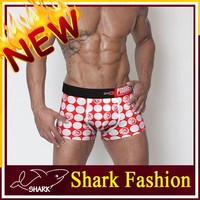 Shark Fashion multicolor boxers for man XXL modern man full printed underwear