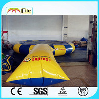 CILE 2015 Newest inflatable water blobs with trampoline for sale