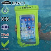 wholesale plastic mobile phone waterproof bag for samsung galaxy s3