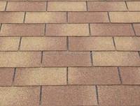 3 tab single layer roofing material asphalt shingles