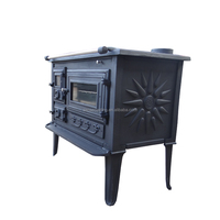 Factory direct selling cast iron stove with oven (BSC003)