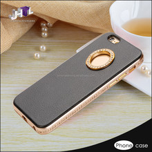 Hot sell waterproof oem wallet leather back case for iphone6 plus