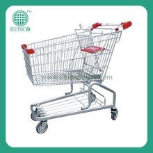 Popular carrito de supermercado con buena calidad