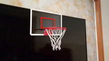 The transparent mini basketball hoop for kids