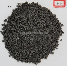Mixed calcined Petroleum Coke/PET Coke