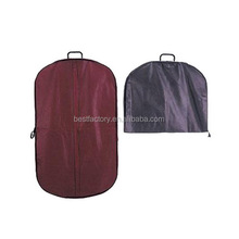 coat and gown bag, polyester suit cover, dress cover garment bag