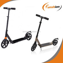 Adjustable and fold kick scooter with 200mm PU wheel